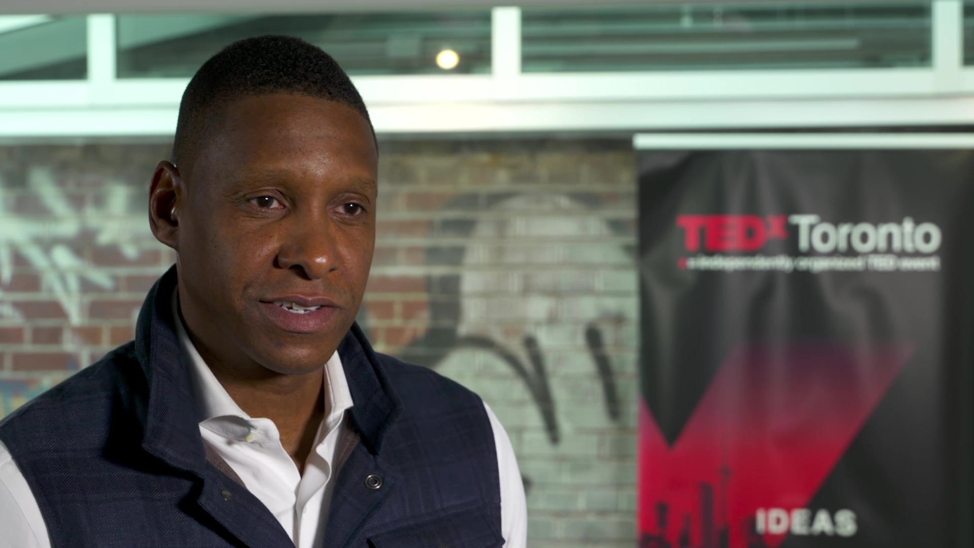 LiVECAST.ca - Masai Ujiri at TEDx Toronto 2018